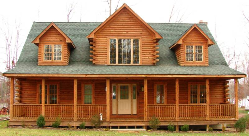 Log home cleaning staining log home maintenance restoration for How to stain log cabin